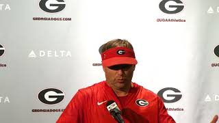 Kirby Smart Presser Conference - Wednesday, August 23, 2017