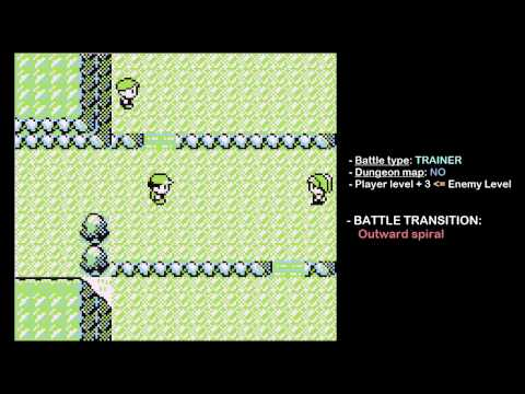 TIL why there's different Pokemon transition screens