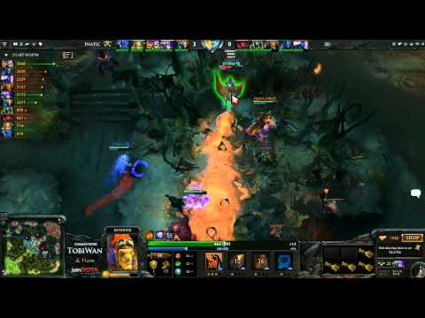 3D!Clan vs Fnatic EU - StarLadder V - TobiWan