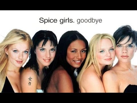 Spice Girls - Goodbye (lyrics & Pictures) video