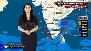 Weather Forecast Nov 20: Northeast Monsoon active, good rain in parts of TN, Kerala