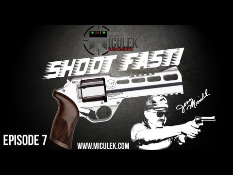 Chiappa Rhino review & speed shooting with fastest shooter ever. Jerry Miculek (Shoot Fast!)