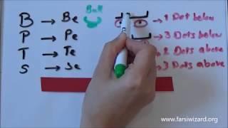 Farsi / Persian Lesson: Persian Alphabet B, P, T, S (65)