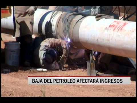 28/10/2014 - 20:44 BAJA DEL PETROLEO AFECTARA INGRESOS