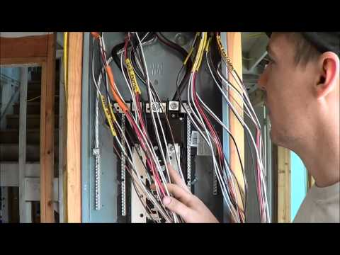 How to Wire an Electrical Panel - Square D