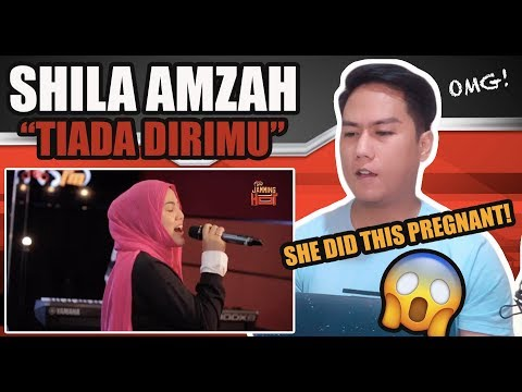 Download Shila Amzah - Tiada Dirimu LIVE in Jamming Hot | SINGER REACTS Mp4 baru