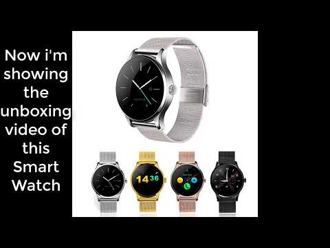 Best smartwatch Heart Rate Monitor Pedometer unboxing review For Android & IOS