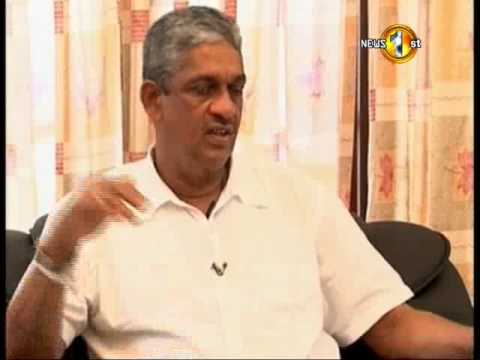 Sarath Fonseka - The Hot Seat MTVSports - 25th March 2015