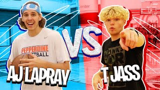 AJ Lapray TRIES To Do Crazy Layups!