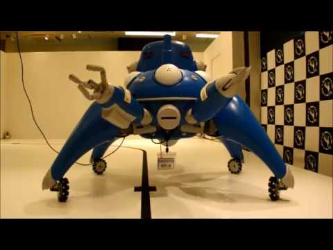 Meet a Half-Size Tachikoma Robot From Ghost in the Shell: Stand Alone Complex