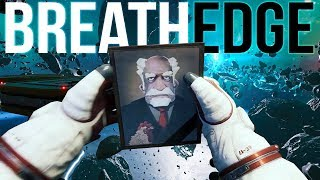 Breathedge - A Funny Space Survival Game - Goodbye Grandpa :( - Breathedge Gameplay Part 1