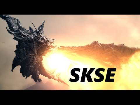 how to install mods manually skyrim