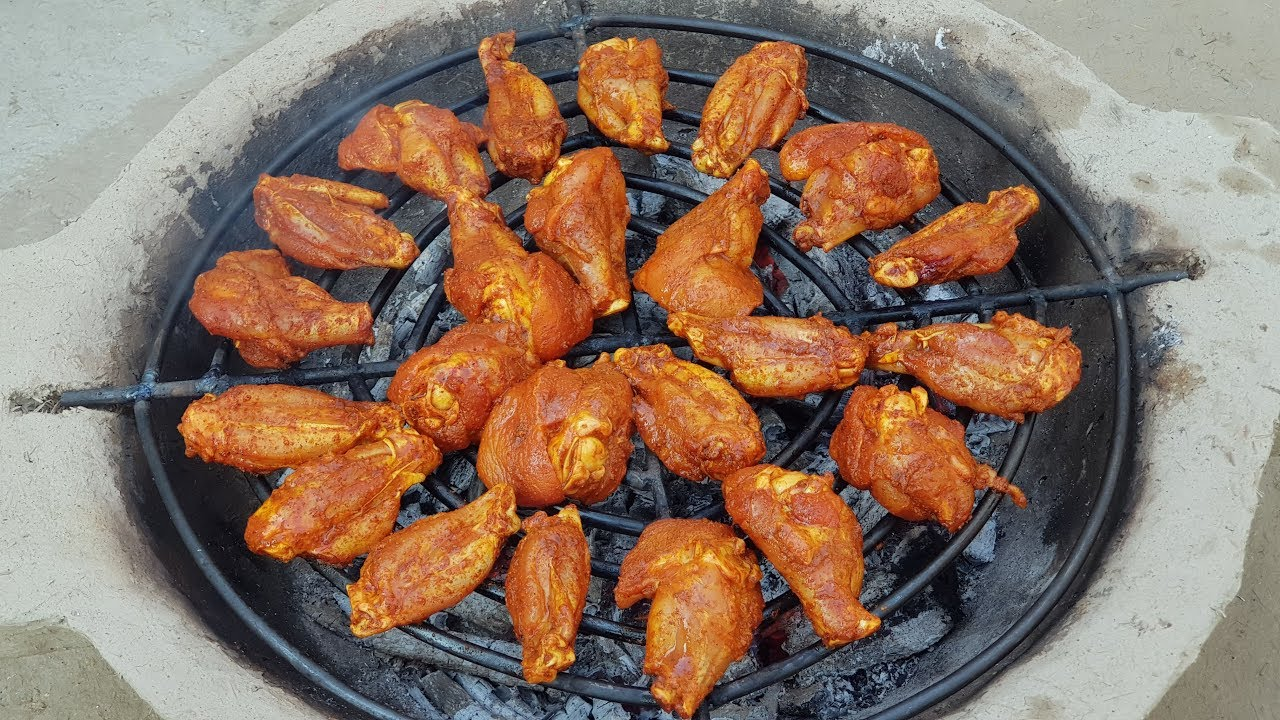 BBQ Chicken Wings Recipe | Tandoori Chicken Wings Recipe by Mubashir Saddique | Village Food Secrets