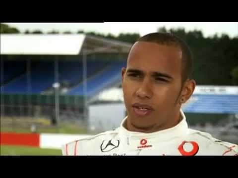 F1 Top Gear  Lewis Hamilton Drives Ayrton Senna's MP4/4 F1 Car