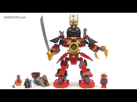 LEGO Ninjago 9448 Samurai Mech set review!