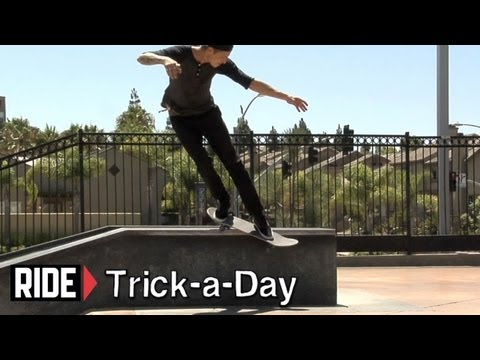 How-To Backside Smith Grind With Chris Troy - Trick-a-Day