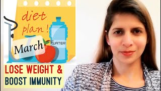 March Weight Loss Diet Plan | Weight Loss Challenge 2020 | Lose Weight & Boost Immunity | Hindi