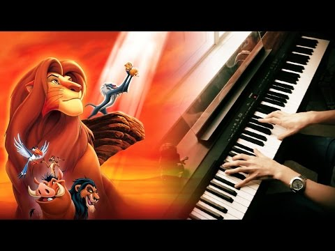DISNEY: THE LION KING - Circle Of Life (Piano Solo)