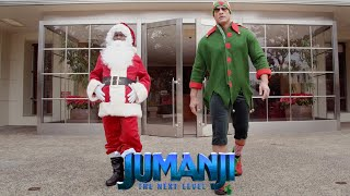 JUMANJI: THE NEXT LEVEL - Santa and The Dwelf