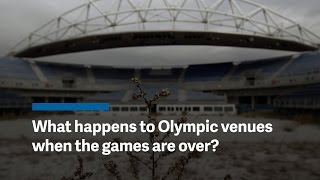 What happens to Olympic stadiums after the games?