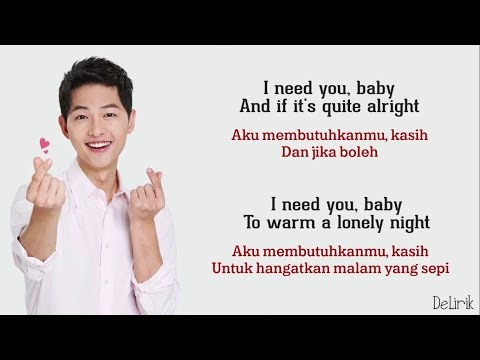 I Need You Baby - Joseph Vincent [Can't Take My Eyes Off You] - Lirik dan terjemahan (Cover)