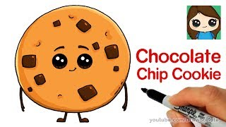 How to Draw a Chocolate Chip Cookie | The Emoji Movie