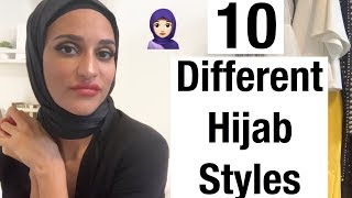 10 Different Hijab Styles