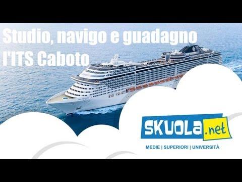 ITS Caboto, studio, navigo e guadagno già a scuola