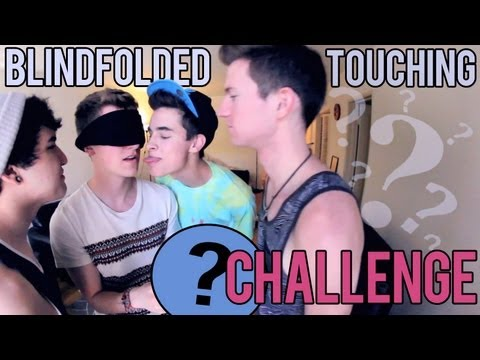 Blindfolded Touching Challenge (w/ Jc, Kian, & Ricky)