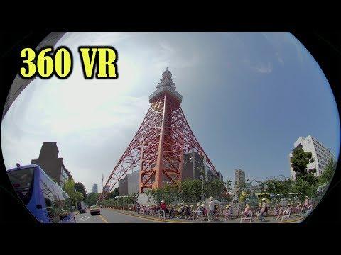 :[ 4K 360 VR ] 東京ストリート VR Tokyo Street in Motion ( Hyperlapse & Slowmotion )