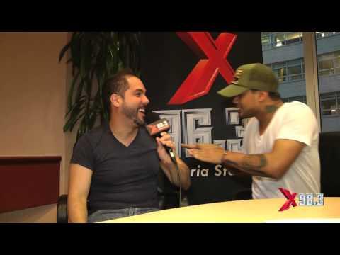 X96.3 Joel Santiago Interview con Don Miguelo