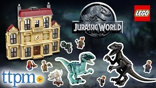 LEGO Jurassic World Indoraptor Rampage at Lockwood Estate [REVIEW] | LEGO Toys