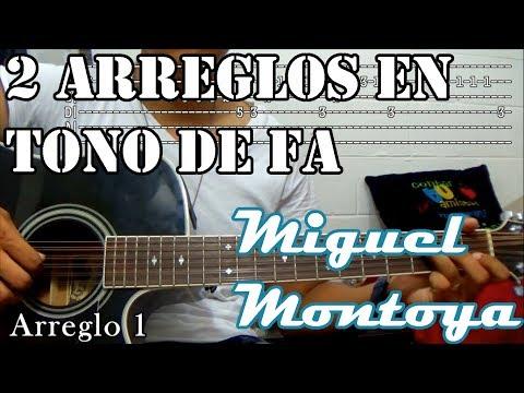 Tutorial | 2 Arreglos en tono de Fa | Miguel Montoya | TABS