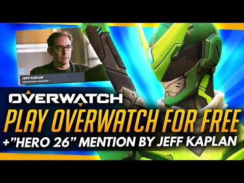 Overwatch | 'Not As Soon As You Think' Jeff Kaplan on Hero 26 + FREE WEEKEND