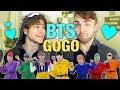 Reacting to BTS 'GO GO' Dance Practice!! [BANGTAN BOMB Halloween ver.]