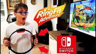 MI ALLENO CON RING FIT ADVENTURE - 🅻🅴🅾 🆃🅾🆈🆂
