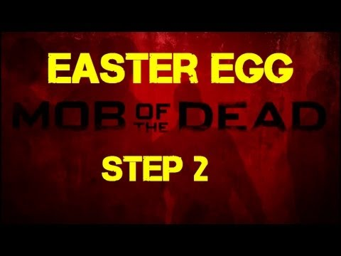 Mob of the Dead Easter Egg Step 2 - Removing the Movie Poster from the Cell