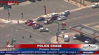 WATCH: Crazy Police Chase In Phoenix (FNN)