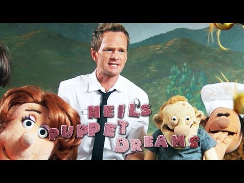 NEIL PATRICK HARRIS dreams THE RESTAURANT - Neil s Puppet Dreams