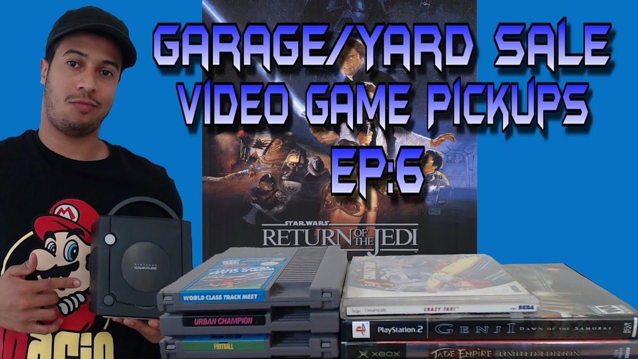Garage Yard Sale Video Game Pickups Ep 6 Youtube
