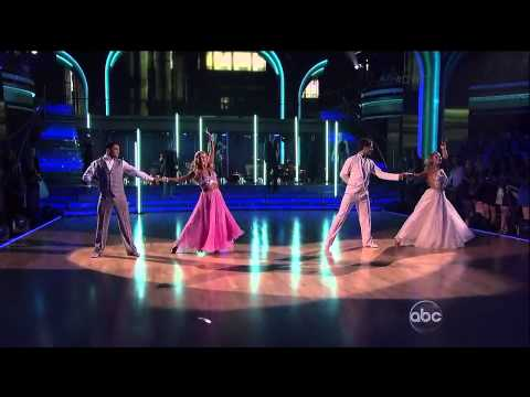Victor and Lindsay with Tristan and Emma- Viennese Waltz-Week 5