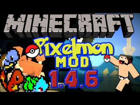 Minecraft mods: Descargar e Instalar Pixelmon mod para Minecraft 1.4.6