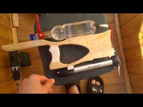 Как сделать своими руками водяной пистолет
