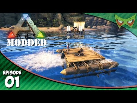 Ark Modded - Ep 01 - Bush People! - Ark Modded Let's Play