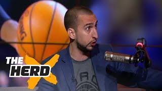 Nick Wright on LeBron James' greatness, the Celtics' bad judgment and more | THE HERD
