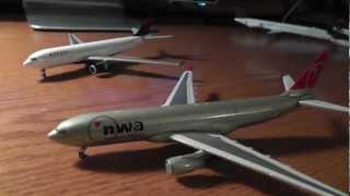 Gemini Jets 1:400 Delta Airlines Airbus A330-200 Unboxing/Review