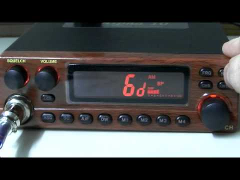 Alpha 10 Mini Export AM FM 10 Meter / CB Radio overview by CBRadiomagazine.com