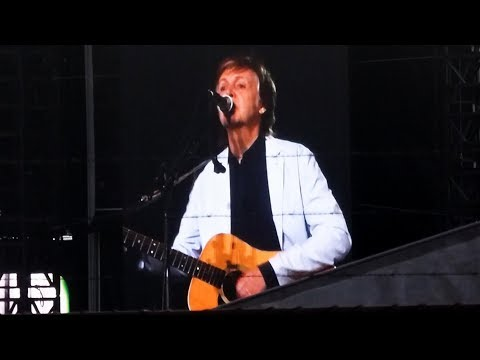 Paul McCartney - It's So Easy [Rehearsal at nib Stadium, Perth - 01-12-2017]