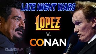 Late Night Wars - George Lopez v. Conan O'Brien