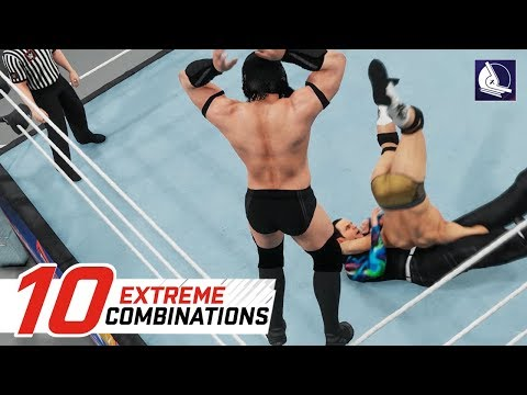 WWE 2K18 Top 10 Extreme Combinations (w/ Finisher Combos)